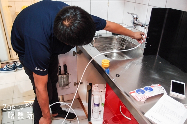 新家裝修/我家裝了淨工坊的淨水器!懶惰人妻以後再也不用燒開水了