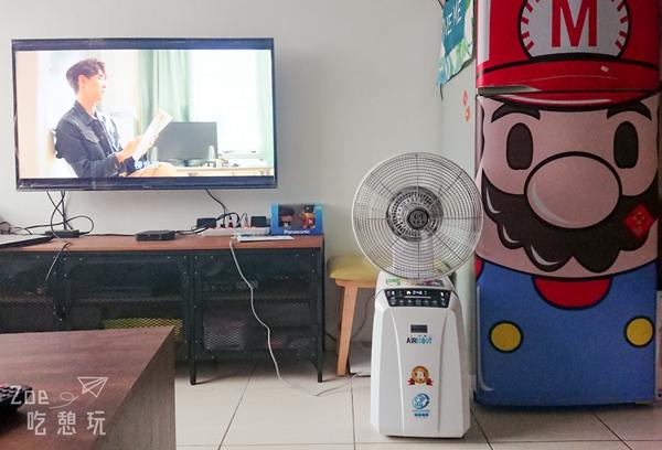 居家生活家電 / 中台空氣淨化,AIRROBOT空氣人中央牌六合一空氣清淨機無死角循環體驗,同時兼具電風扇功能清涼又能抗空汙