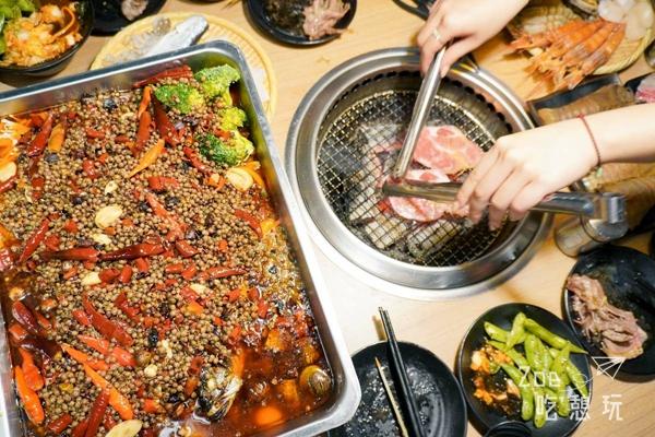 【板橋燒肉】制霸無肉不歡的中秋節!大推「板橋燒肉殿」和牛吃到飽,旁邊就是環狀線捷運站,還能外加生啤喝到飽